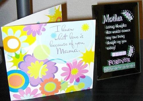 母親節卡片DIY