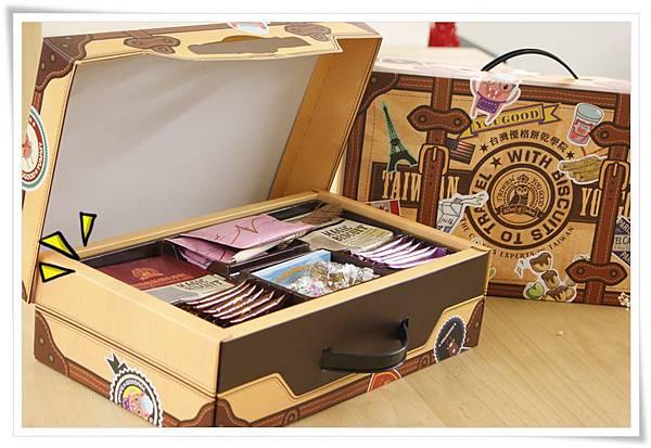 優格餅乾旅行箱禮盒4