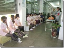 2012.12.14診所內舉辦急救課程1