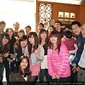 2013.02.17於日月湖日本料理店舉辦春酒後大合照