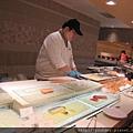 今天的蝦子太小,生魚片種類太少。漢來退步了。.jpg