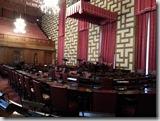 瑞典斯德哥爾摩市政廳內的議會講堂。