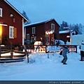 參觀芬蘭的冰雪城堡--廣場有饒舌演唱2015.02.17-1.jpg