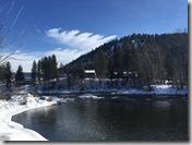 20160204_Leavenworth小鎮之旅。河岸雪地風光。-1