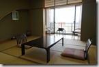 2016.04.04我們住的民宿房間是傳統日式風格。