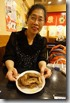 2014.04.05跑了3次終於吃到飯店贈送的名古屋炸雞翅。-1