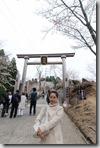 2016.04.10今天唯一的行程-吉野山賞櫻。第一站--修行門。