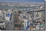 2016.04.11由住宿酒店俯瞰清晨的大阪。-9