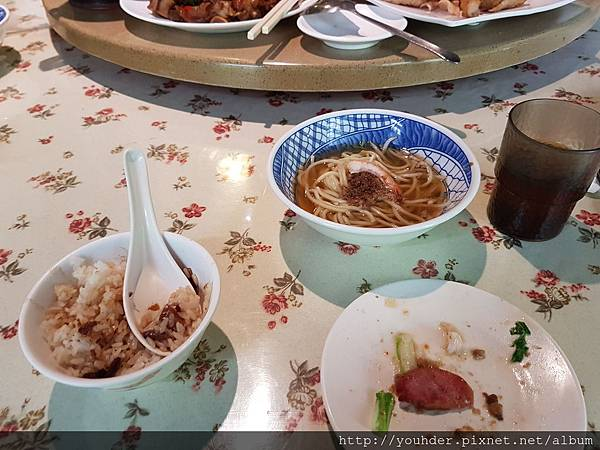 20170101_第3天中餐是道地的台南小吃,不好醫思吃了一半才想到沒照相做記錄。好吃,給個讚。2.jpg