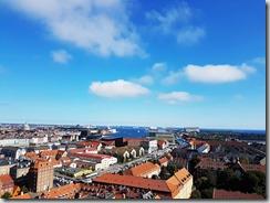 20170823_由救主堂頂端眺望哥本哈根市區。