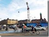 20170824_丹麥哥本哈根腳踏車幾乎是他們主要的交通工具之一。清晨許多人騎著腳踏車去上班。