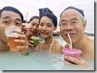 20170824_藍湖溫泉泡溫泉,行程還包括可以選用一杯特製的飲料。。