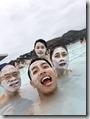 20170824_藍湖溫泉泡溫泉,敷兩種不同的面膜。