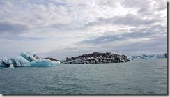 20170827_冰河湖遊船由湖上觀賞各種浮冰。