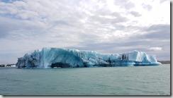 20170827_冰河湖遊船由湖上觀賞各種浮冰。1