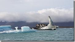 20170827_冰河湖遊船由湖上觀賞各種浮冰。3