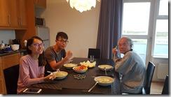 20170828_享受自製的晚餐。