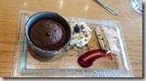 20170829_冰導人喜歡吃的甜點。熱巧克力蛋糕配冰其林。