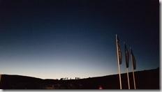 20170829_在飯店晚上看到極光。