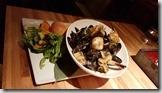 20170830_前菜有淡菜和干貝。