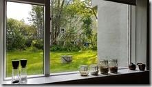 20170901_半挑高的第下室可以從窗戶看到外面的景色。