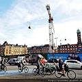 20170824_丹麥哥本哈根腳踏車幾乎是他們主要的交通工具之一。清晨許多人騎著腳踏車去上班。.jpg