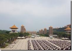 20171104_到佛陀紀念館正好碰到舉辦千人茶會。