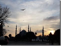 20180104_170504藍色清真寺的夕陽