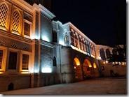 20180106_183022喀帕爾有頂大市集旁清真寺夜景。3