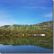 20180614_092953早晨的喀納斯湖和昨晚的喀納斯湖呈現完全不同的風情。
