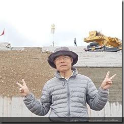20180616_162825後方高處是成吉思汗點將台,還在修建中。