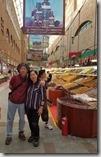 20180619_183900新疆國際大巴扎廣場內的市集。1