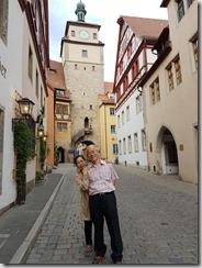 20190424_182917在德國第一晚落腳的旅館外面。