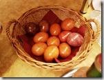 20190425_063644早上飯店自助餐的雞蛋有復活節彩蛋1