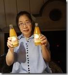 20190425_192151晚餐是柯瑪米其林推薦料理--導遊極力推薦不喝啤酒的人點此處專有的杏桃汁