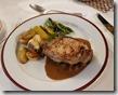 20190426_192013晚餐盧森地方風味料理--主菜是豬肉