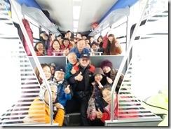 1556480117061團員在登山火車和列車長合照