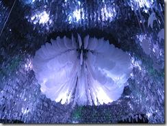 走進夢想管迎接我們的就是這朵巨大的機械花