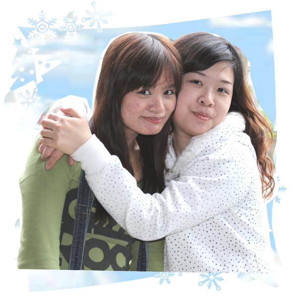 倆倆相依二美人貞婷+彩雲2009.01.23沙連墩.jpg