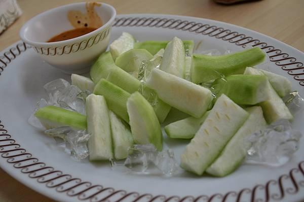 Day1_龍門海鮮餐廳-涼拌絲瓜.JPG