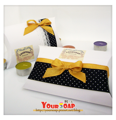 簡易包裝 金緞帶