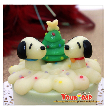 耶誕造型皂三