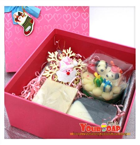 耶誕造型禮盒三