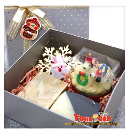 耶誕造型禮盒一