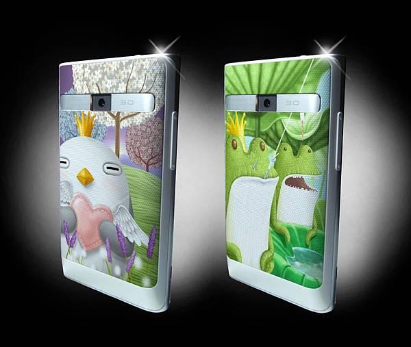 LG授權手機背蓋圖案-S