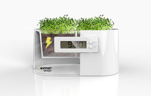設計小物-植物時鐘2