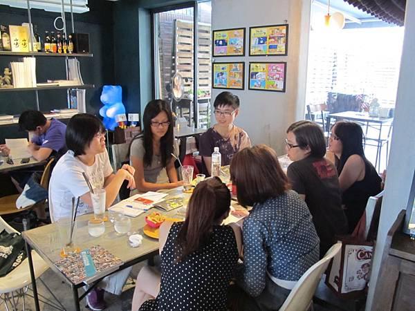 職場見習學員小團體