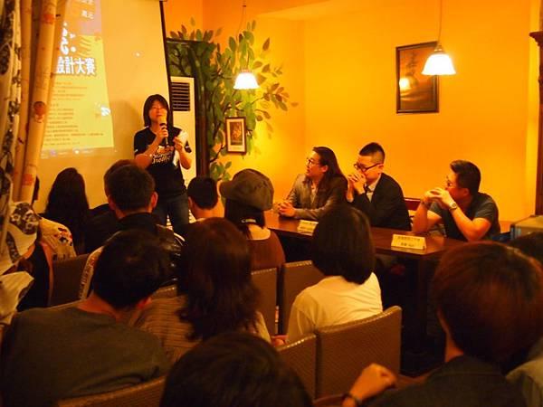 台少盟資深專案經理洪曉萍介紹好色計就業力培訓班