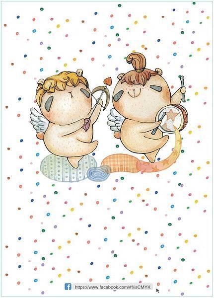 幸福小天使,小天使帶給每個人幸福與快樂