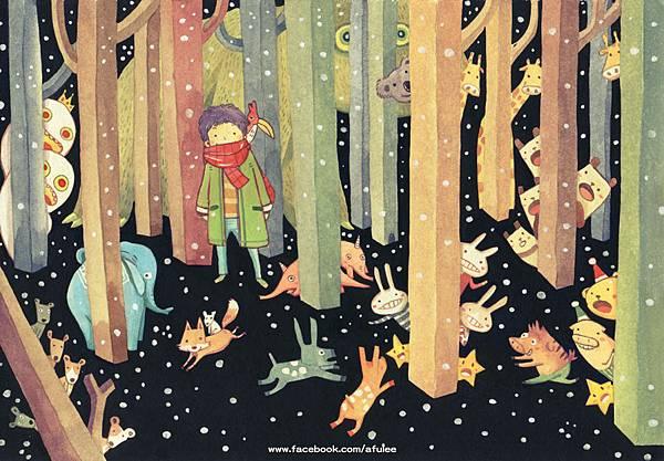 森林躲藏藏